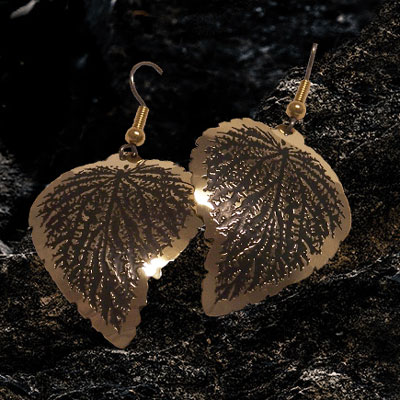 Wild Atlantic Way Foliage Earrings